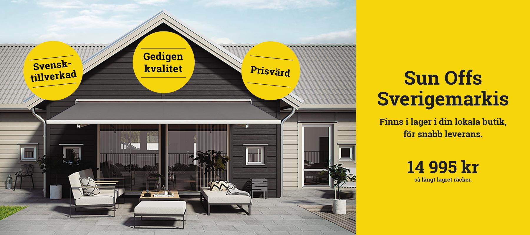 Sun Offs Sverigemarkis – ett enkelt val, alltid nära dig.