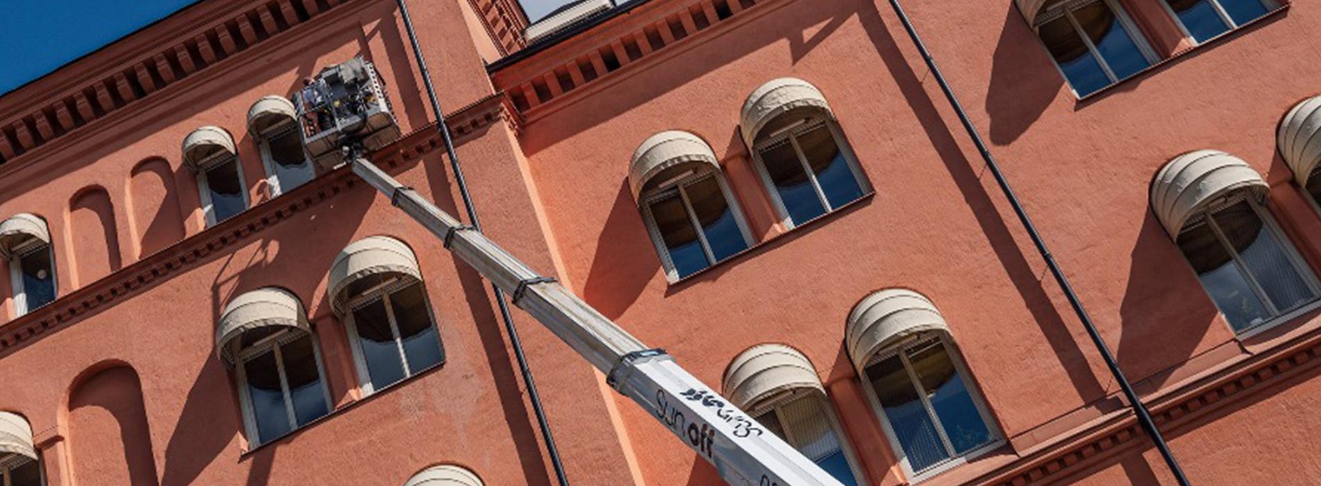 Installations-tekniker till Sun Off i Stockholm