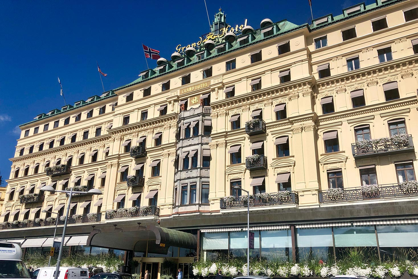 grand hotel stockholm solavskarmning