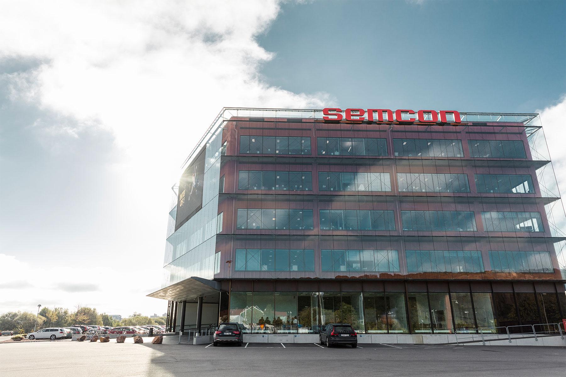 Semcons kontor i Göteborg